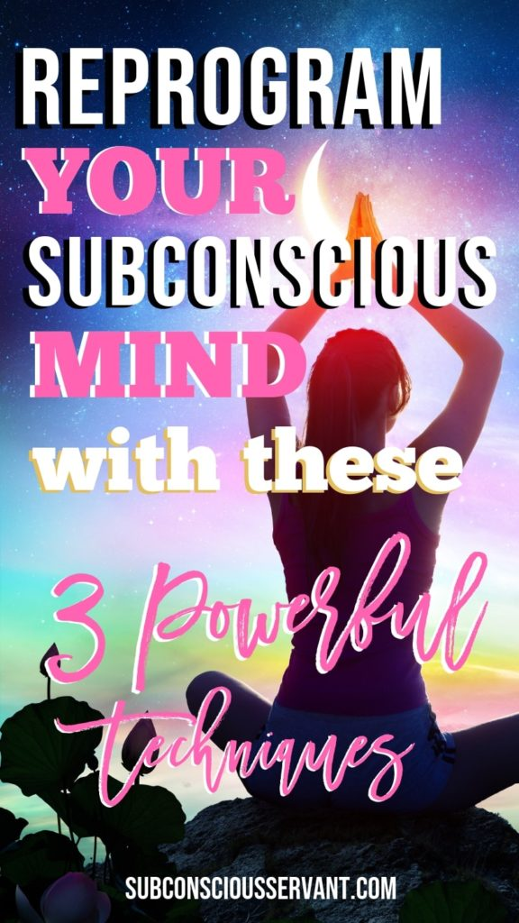 Your subconscious mind has a huge influence when it comes to your everyday behaviors in life. This then controls your actions and results. Most people have negative subconsious programs that are counterproductive to achieving their goals. If you find that you are not where you want to be in life then you may want to program new thoughts and behaviors into the subconscious mind. Check out the 3 techniques. #SubconsciousServant #subconsious #mind #LOA #lawofattraction #intentionalliving #personaldevelopment #mindfulness