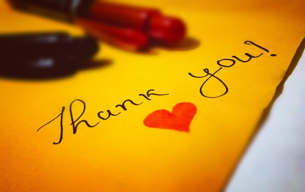 Having gratitude helps attract money with the subconscious