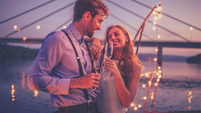 couple attracting love spiritually