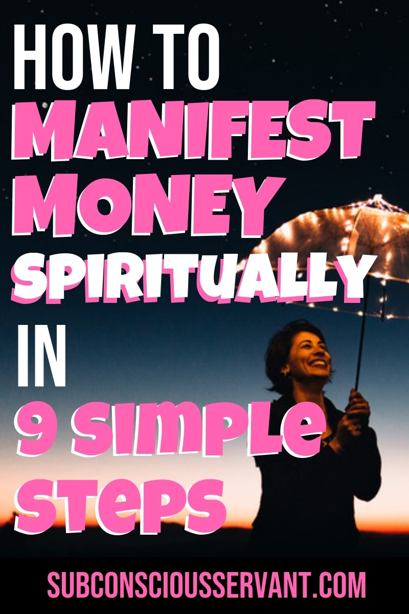 How To Attract Money Spiritually In 9 Steps