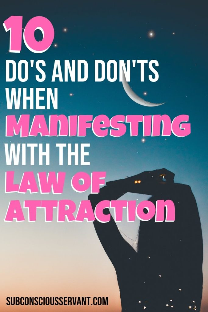 Struggling to manifest with the Law Of Attraction consistently? Maybe <a href=