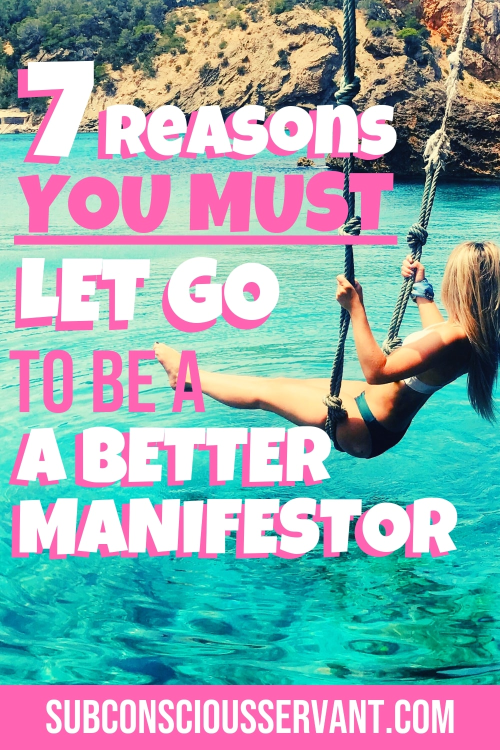 So you've got everything you need to be a great manifestor. You know all the law of attraction techniques, and you apply them faithfully. You find yourself having a series of small successes. But for some reason, when it comes to the stuff that truly matters to you, you aren\'t doing so great. The reason you struggle is that you can\'t detach yourself from the outcome and let go. This post will explain. #SubconsciousServant #LawOfAttraction #Manifesting #LOA #Spirituality #IntentionalLiving