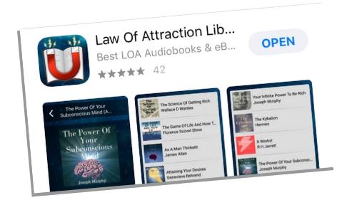 Self Help Manifesting App