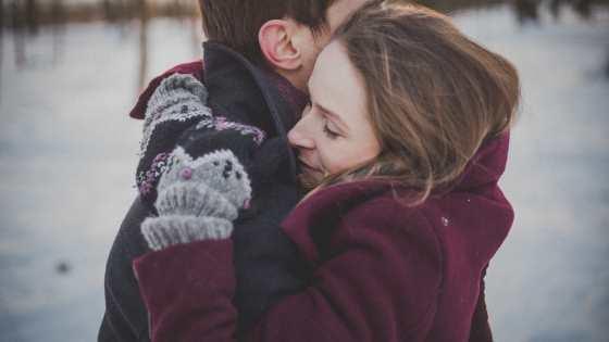 highly sensitive person hugging