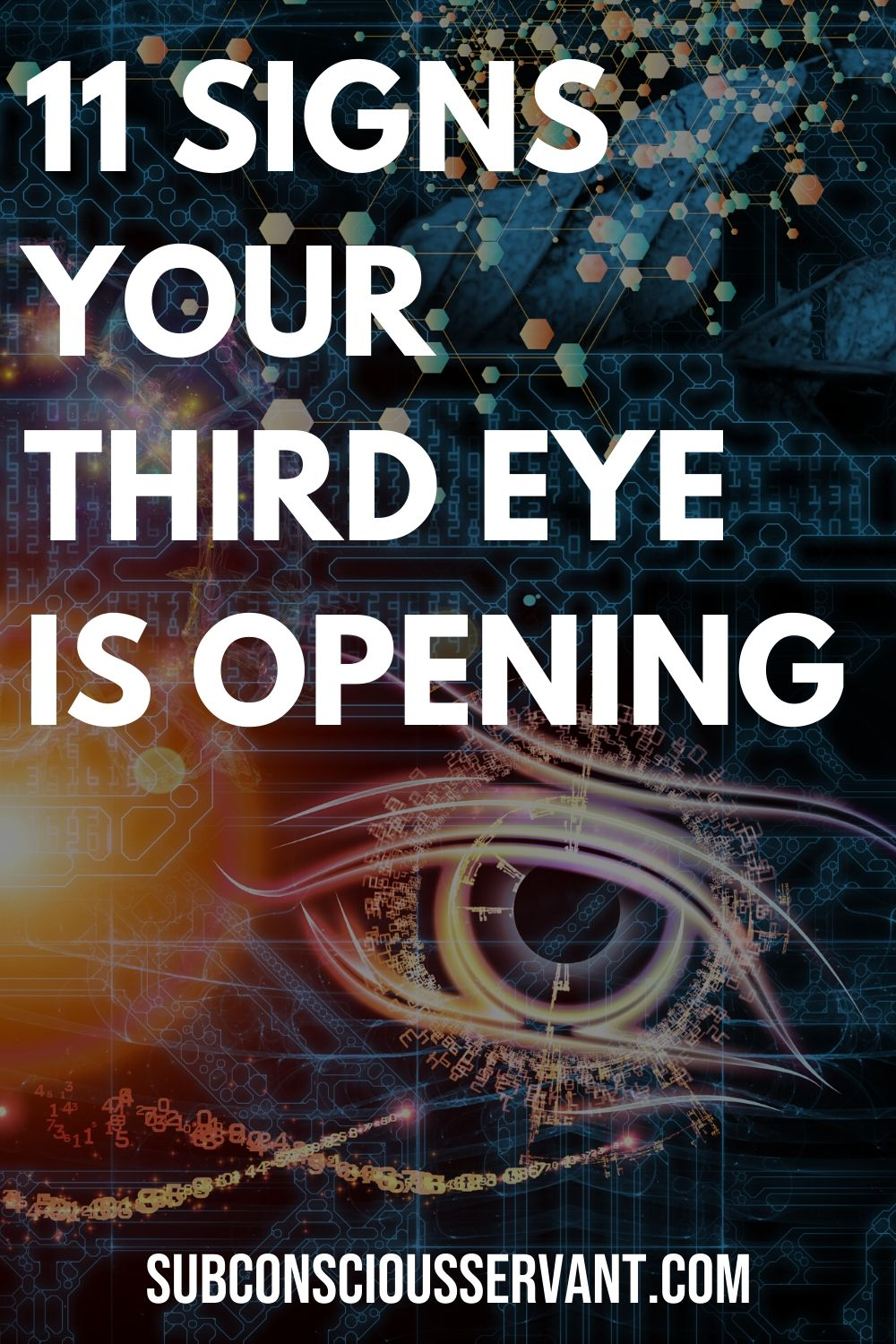 11 Signs your Third Eye is Opening