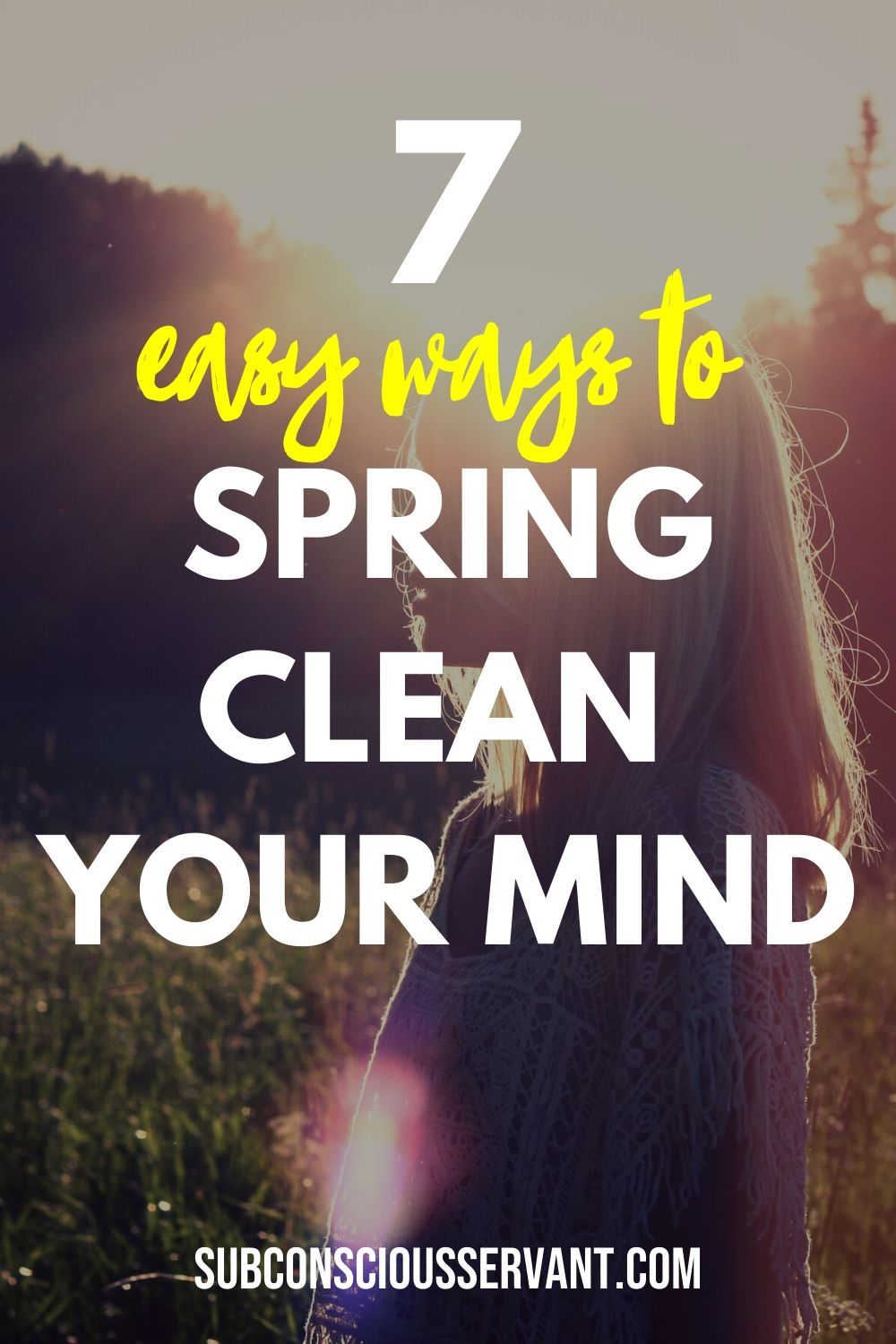 Here I have compiled a list of some great ways that you can spring clean your mind to increase your mental wellbeing and promote a mind space conducive to peace and happiness. Enjoy! #Mind #MentalHealth #Mindfulness