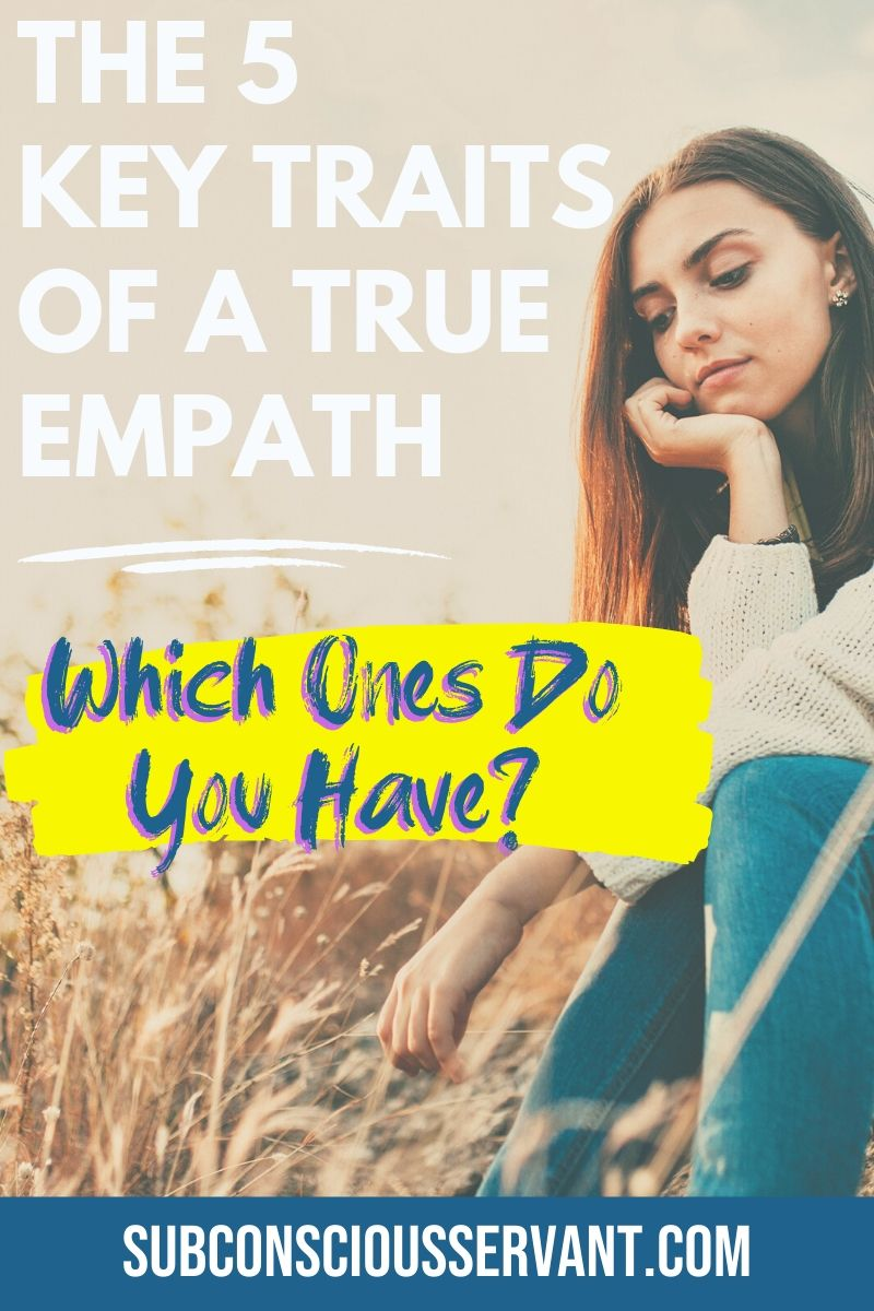 If you suspect that you or someone you know, might have empathic abilities but are not sure, read this post and see if you have any of the key traits of an empath. #Empathetic #Empath #HSP #Spititual #Spirituality #Metapysical