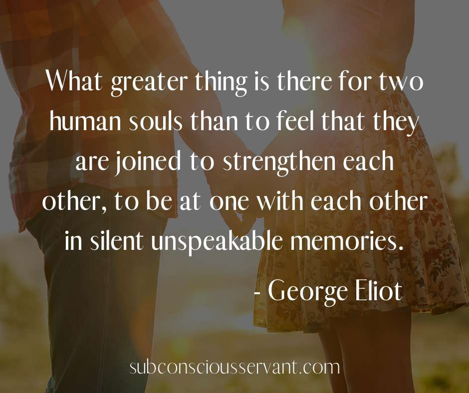 image of a soulmate quote