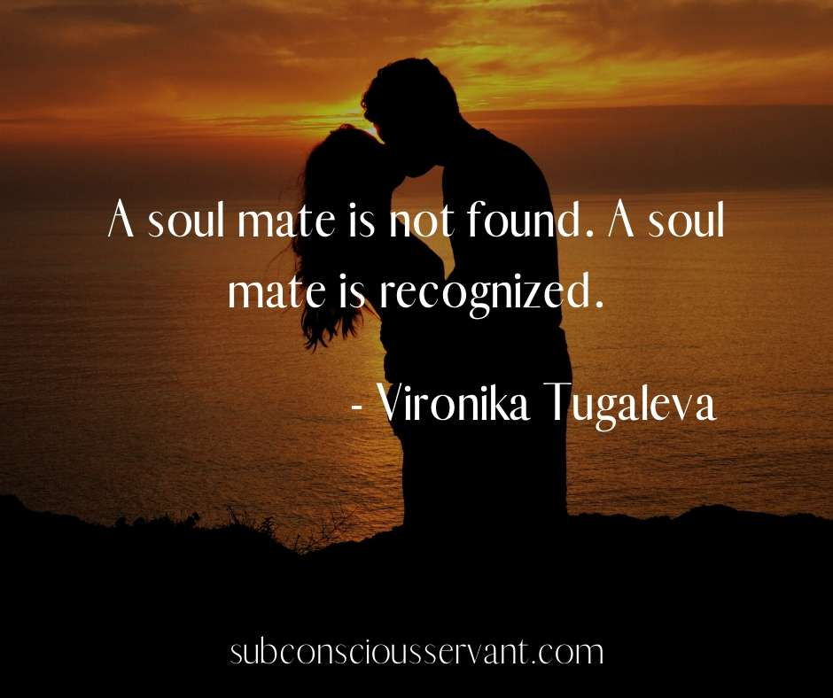 a soulmate quote