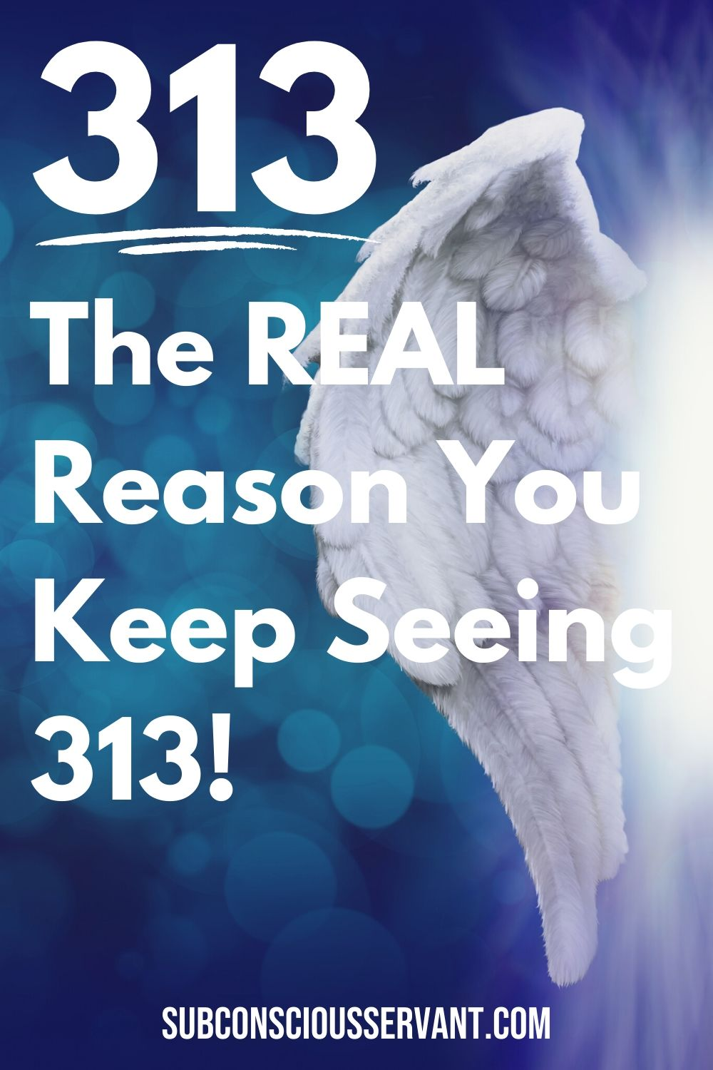 Numerology Number 313 - The REAL Reason You Keep Seeing 313!