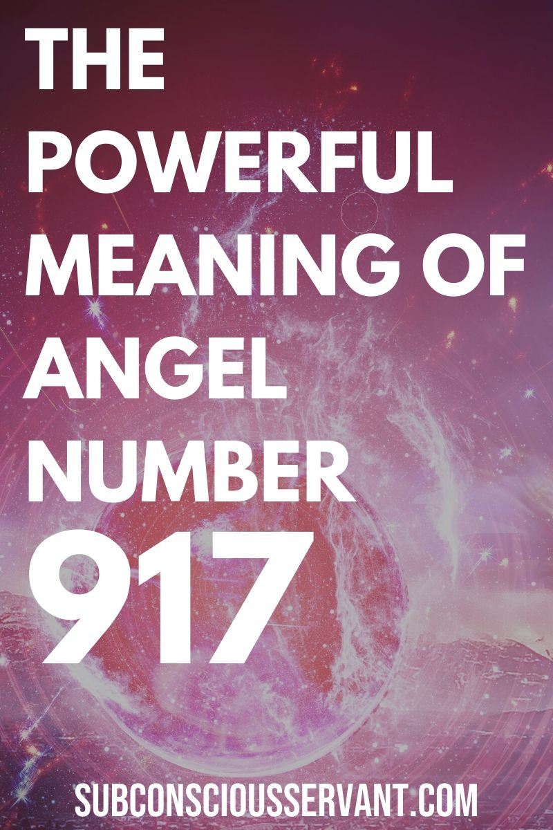 The Meaning of Angel Number 917  - Carry On, Or Start Over?