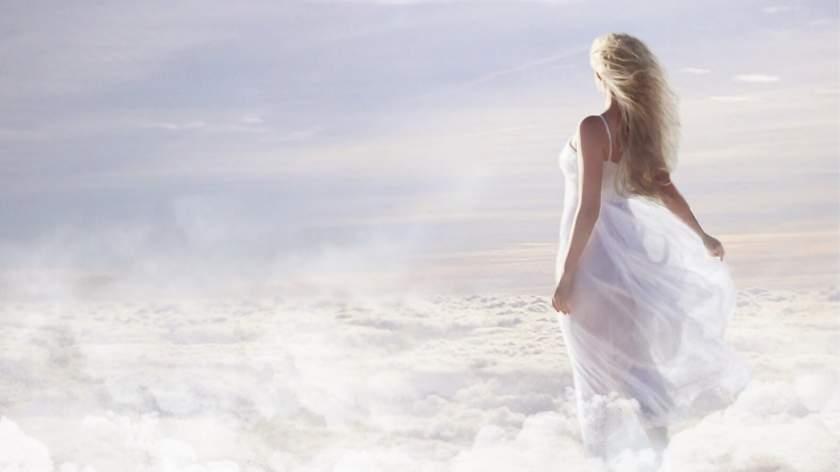 Woman representing angel number 707