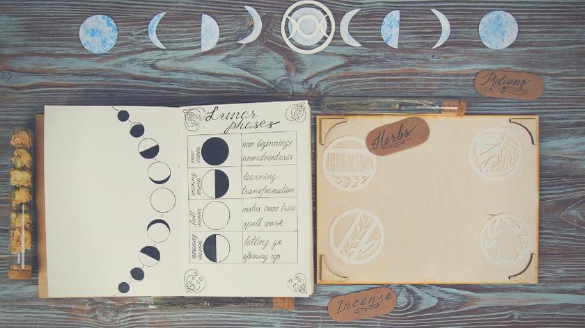 diary for full moon manifest money ritual