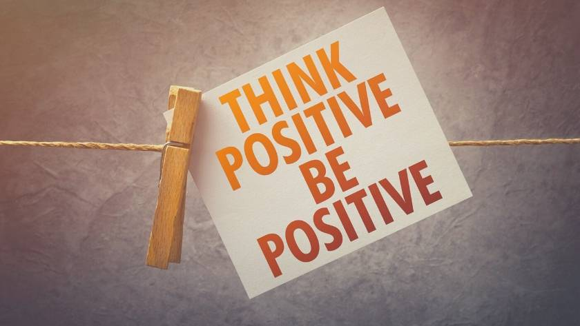 law of attraction positive words help depression