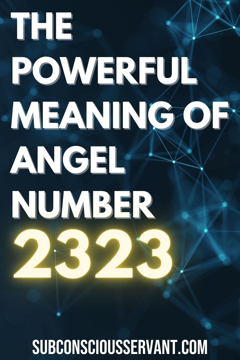 The POWERFUL Meaning Of Angel number 2323 - Numerology