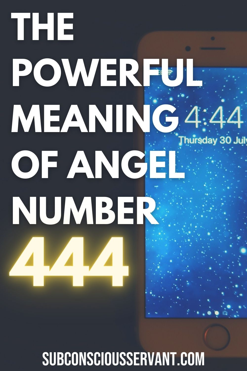 Keep Seeing 444? This Is The REAL Spiritual Meaning of 444