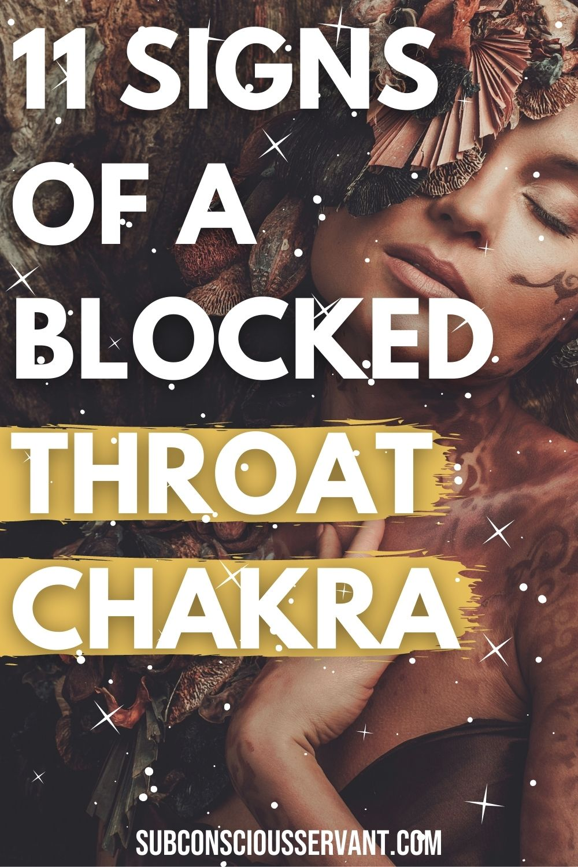 11 Symptoms Of A Blocked Throat Chakra