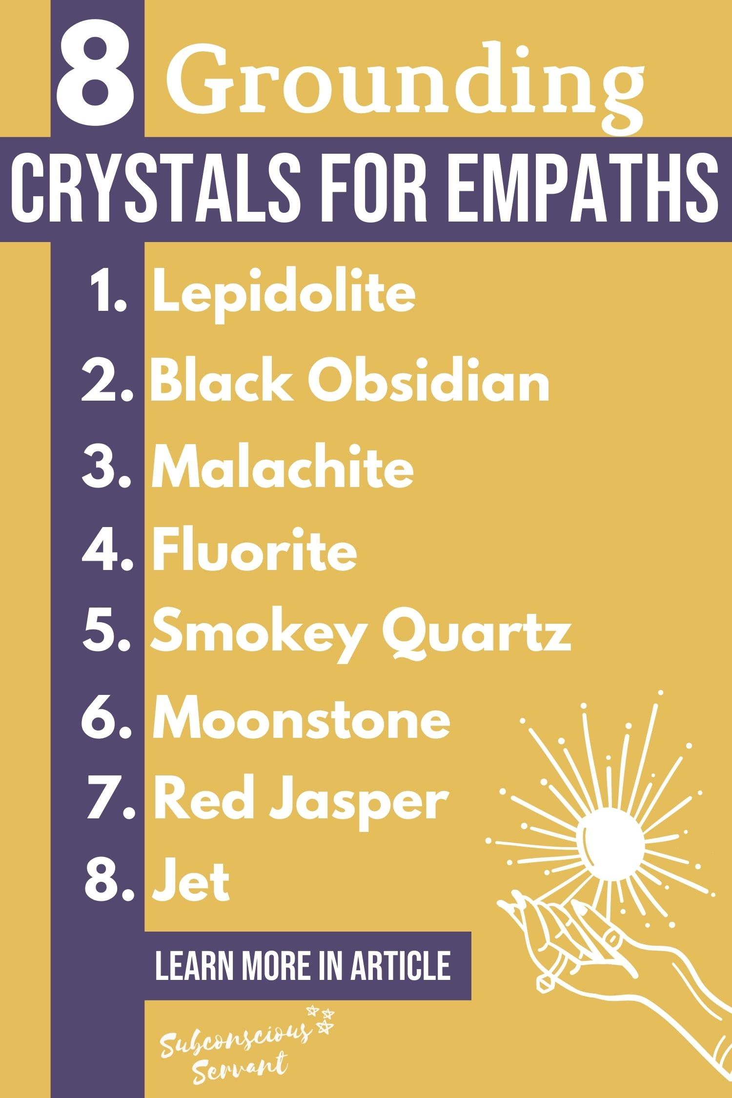 Grounding Crystals For Empaths - The Best Ones To Use And Why