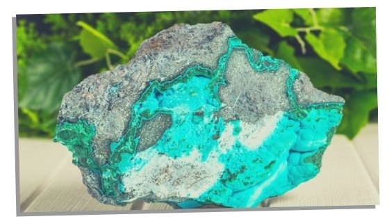 Malachite crystal