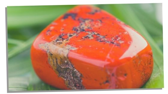 Red Jasper crystal