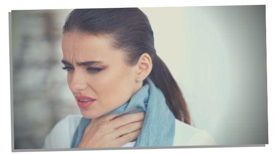 feeling a knot in throat