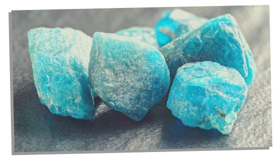 Apatite is a great crystal for creativity