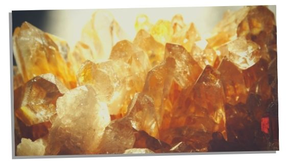 Picture of Citrine Cluster
