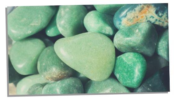 Nice Green Aventurine stone