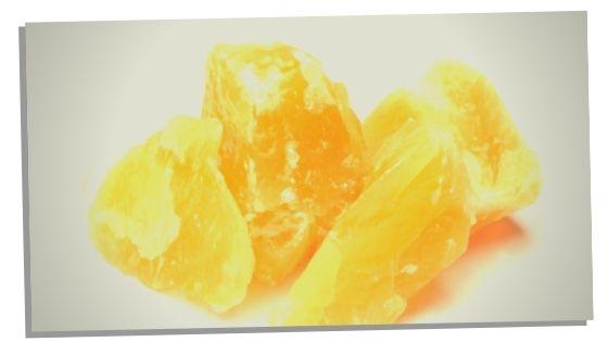 Emotional clarity crystal Orange Calcite
