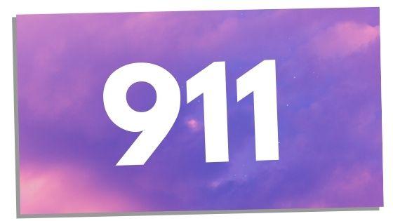 seeing angel number 911