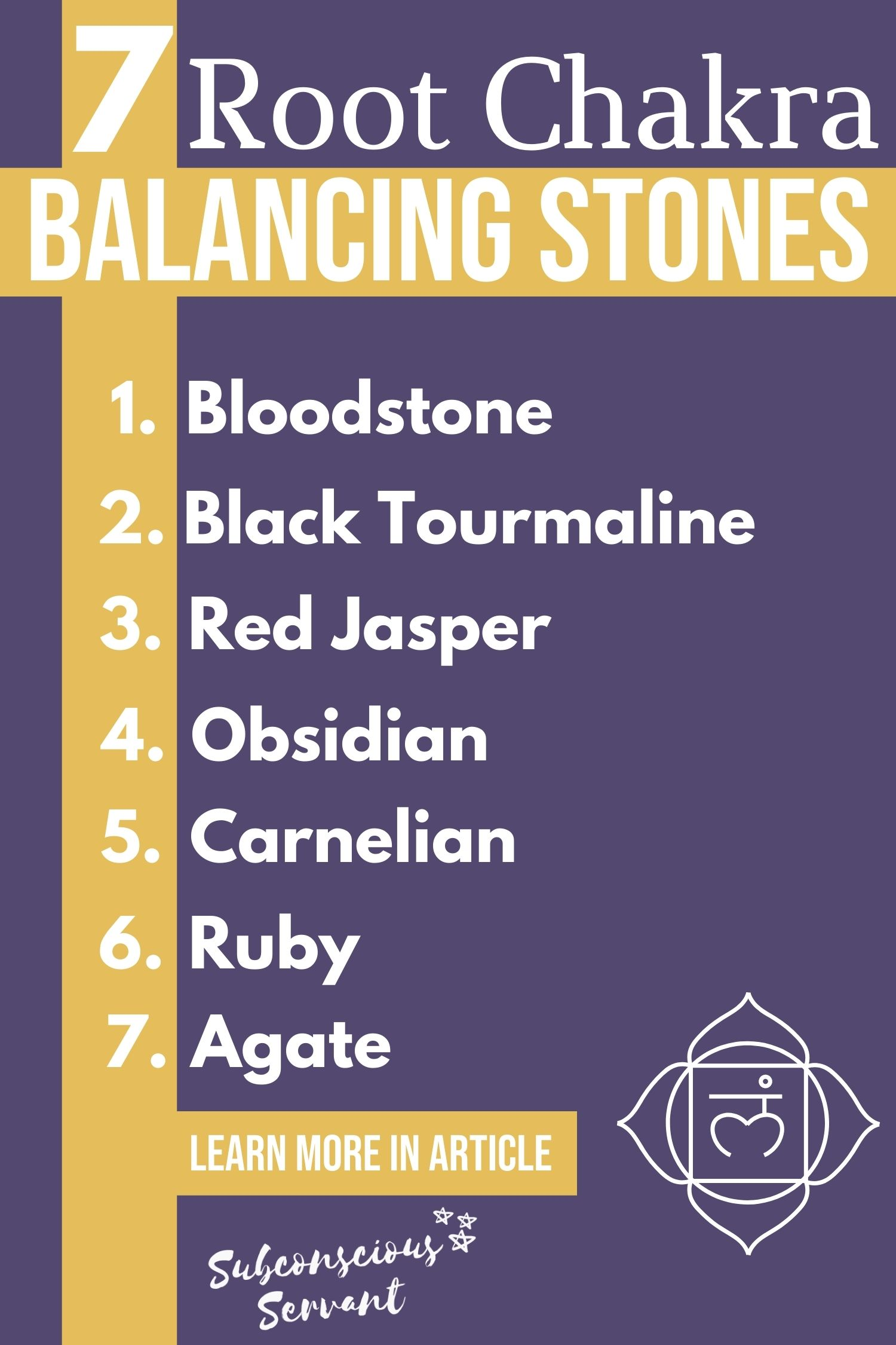 7 Most Powerful Stones For A Well Balanced Root Chakra