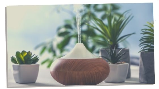 using a diffuser with essential oils