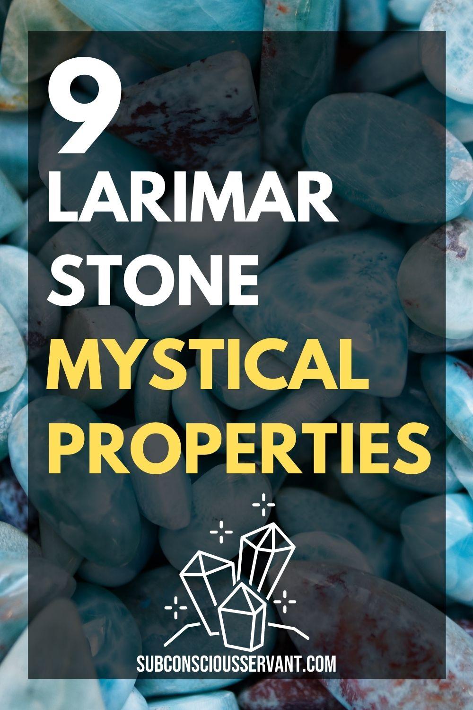Larimar Stone - 9 Amazing Mystical Properties Of This Powerful Stone