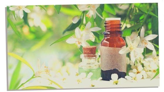 Neroli essential oil for the heart chakra