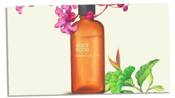 Rosewood oil for heart chakra