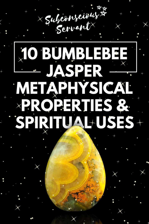 10 Bumblebee Jasper Metaphysical Properties & Spiritual Uses
