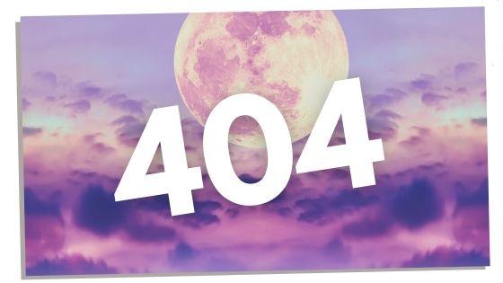 Angel number 404 numerology