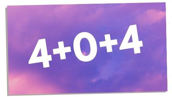 404 angel number numerology breakdown