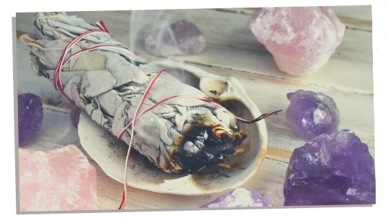 history Of smudging and witchcraft