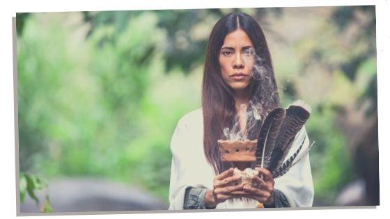 woman becoming a shaman