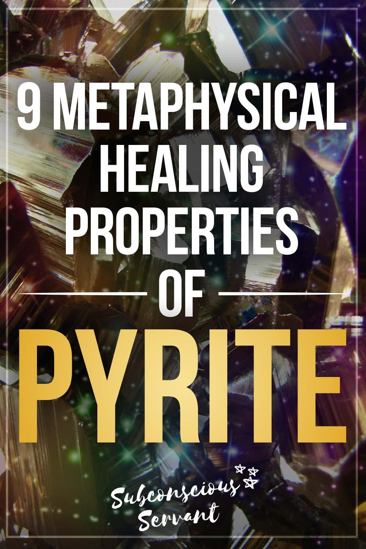 9 Pyrite Metaphysical Healing Properties + Guide To Using Pyrite