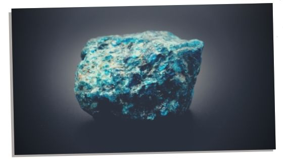 Blue Apatite  and it's healing properties