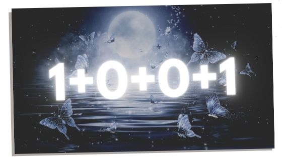 1001 broken down for numerology