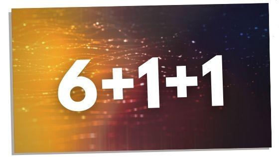 6+1+1 Numerology Image