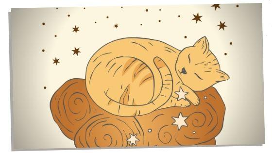 Cat representation of divine feminine energy