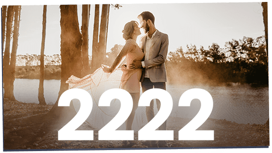 2222 as a twin flame mirror