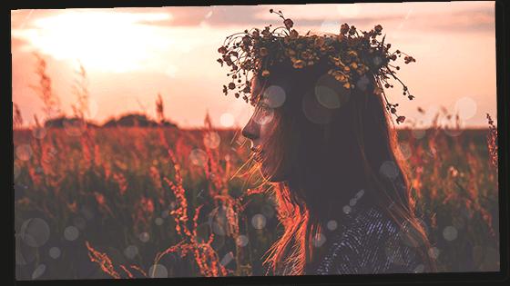 woman experiencing a divine feminine awakening
