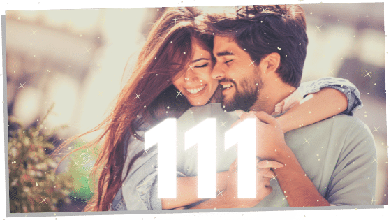 number 111 and twin flames in love