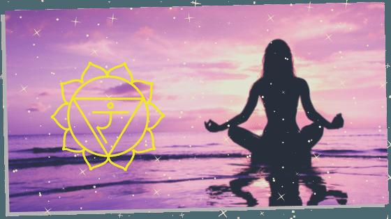 meditating with Solar Plexus Chakra Affirmations