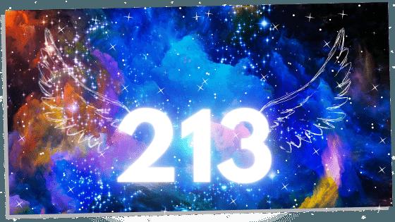angel number 213
